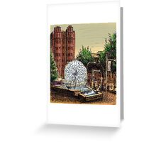 El Alamein Fountain, Kings Cross Greeting Card