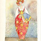 watercolor calendar by vimasi