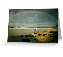 Rainbow Beach... Greeting Card