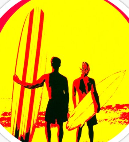 Surf  Sticker