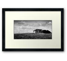 abandoned in grasses Framed Print