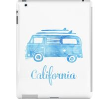 California surfing bus iPad Case/Skin