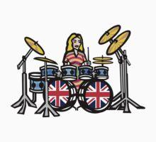 Girl Drummer by fineline