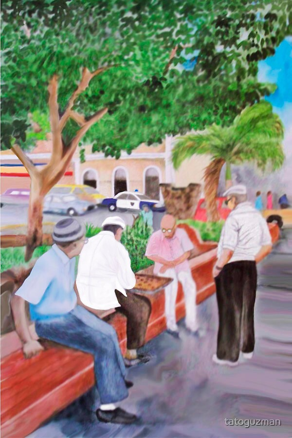 Senior Boys at La Barandilla by tatoguzman