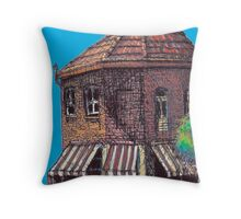 Hopscotch Cafe, Annandale Throw Pillow