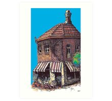 Hopscotch Cafe, Annandale Art Print