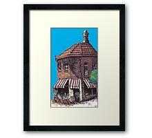 Hopscotch Cafe, Annandale Framed Print