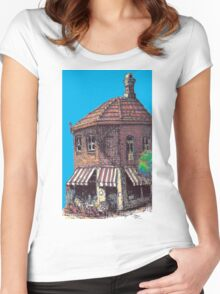 Hopscotch Cafe, Annandale Women's Fitted Scoop T-Shirt