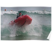 IRB competitions at South Port Beach S.A. Poster