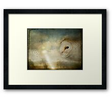 """""""Down there...oh look! Down there!!"""" Framed Print"""