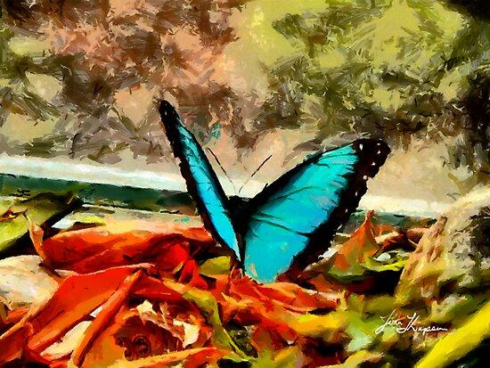 Monarch in Blue by John Thompson