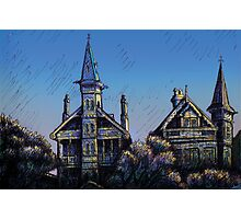 Witches' Houses, Johnston St, Annandale Photographic Print