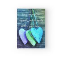 A Pure Heart Hardcover Journal