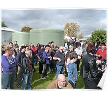 The crowd (Bacchus Marsh CFA reunion) Poster