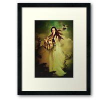 Demeter Goddess of the Harvest Framed Print