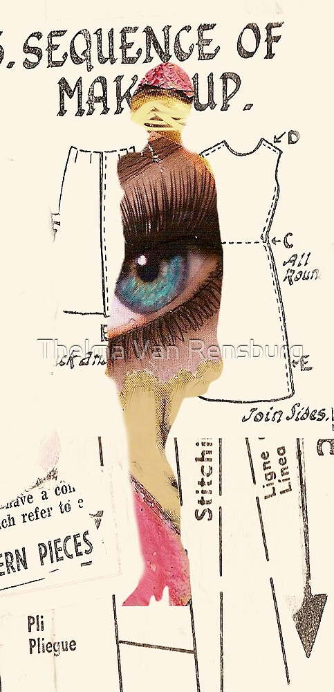 Silhouette 4, 2011 by Thelma Van Rensburg