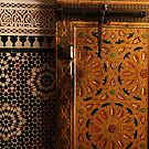 Moroccan door by Jodi Fleming