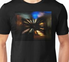 Coloured Water Reflections Design Unisex T-Shirt