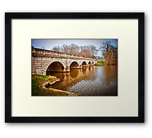 Bridge at Virginia Water, Windsor, UK. Framed Print