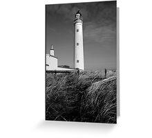 Barns Ness Lighthouse Greeting Card