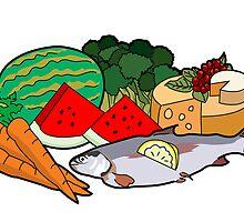 Fresh Food by robertemerald