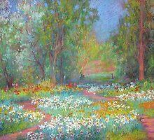 Daffodils by Julia Lesnichy