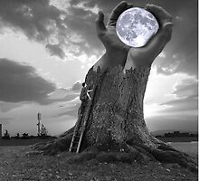 Give some people everything you have and they still want the moon by Elliott  Egan