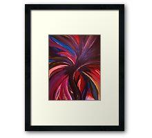 Colour Fury Framed Print