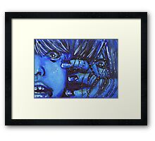 Grudge Framed Print