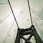 crossing mid-hudson in the rain by greg angus