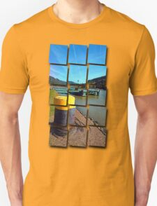 Danube river landing stage | waterscape photography T-Shirt