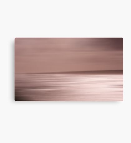 Sepia Shades at Sunset Canvas Print