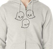 Mood Ghosts Zipped Hoodie