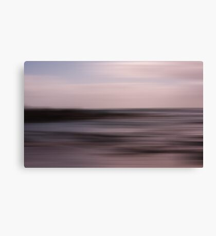 Rapture on the lonely shore Canvas Print