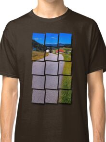 Long and winding valley road | landscape photography Classic T-Shirt