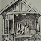 Shelter. Pen drawing. by RuthHunt