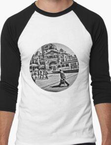 Flinders Men's Baseball ¾ T-Shirt