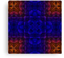 Blue Rust Canvas Print