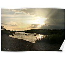 """A peaceful place"" - Olifants river, Kruger Nat. park - South Africa Poster"