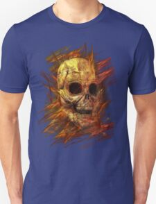 Skeleton in Flames T-Shirt