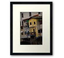"""Florence, Italy - """"Our Little Retreat"""" Framed Print"""