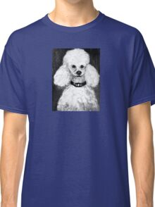 Charlie the Poodle  Classic T-Shirt