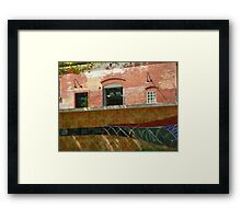 Wire Works Coffee House Framed Print