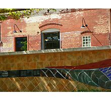 Wire Works Coffee House Photographic Print
