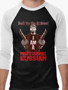 Professional RUSSIAN Men's Baseball ¾ T-Shirt
