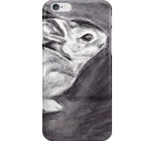 Rabbit Drawing iPhone Case/Skin