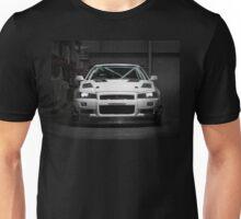 Matt Wootten's Nissan Skyline R34 GTT Unisex T-Shirt