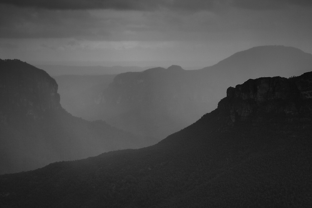 Rain in the Valley by Geoff Smith
