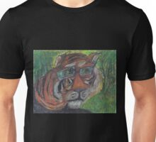 Rainbow Tiger Logo  Unisex T-Shirt
