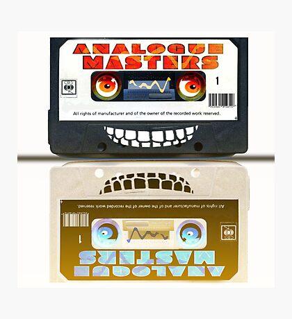 Cassette Tape Analogue Cartoon  2 Photographic Print